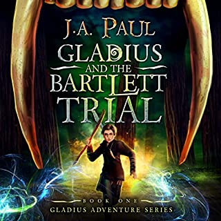 Gladius and the Bartlett Trial audiobook cover art