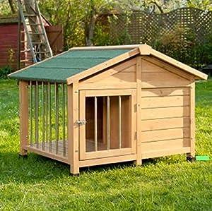 Niche pour chien verrouillable Sylvan spécial–Superbe–Idéal pour accueillir votre animal à l'extérieur de la maison pour les courts fois