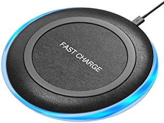 Qi Wireless Charger, 7.5W Fast Charging Pad Compatible with iPhone 11 Pro Max Xs MAX XR X 8 Plus, 10W Quick Charging Compatible with Samsung S10 Note 10 9