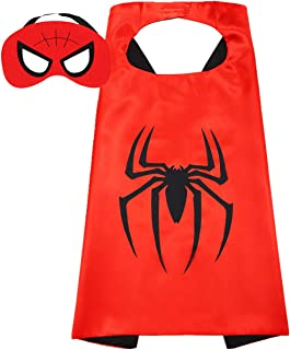 Superhero Capes and Mask for Kids Superhero Toys and Superhero Costumes Party Best Kids Gifts