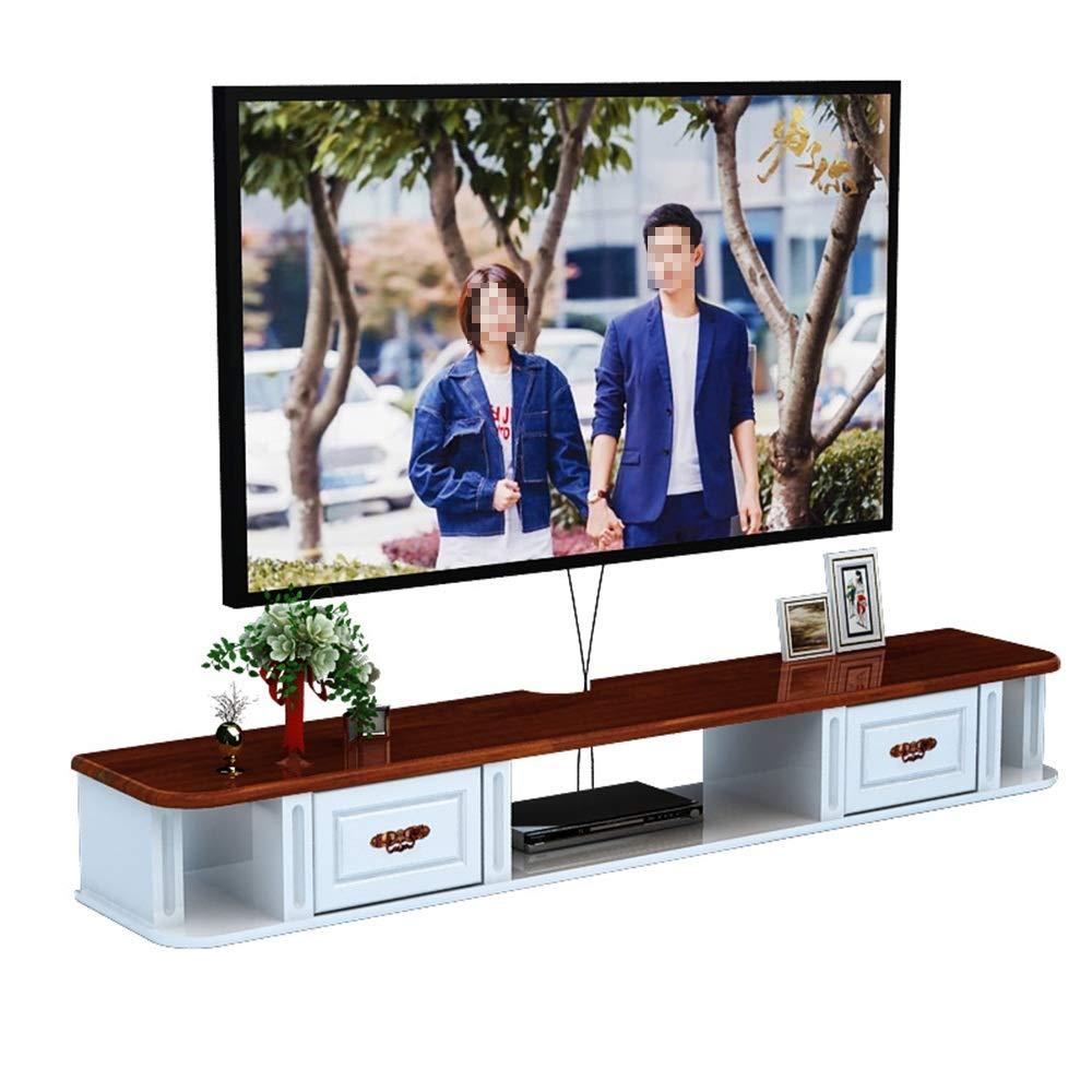 DYecHenG Mueble TV Stand TV Consola De Armario Rack De Almacenamiento En Rack De Pared For TV Barreras Flotantes Pared del Pasillo For El Dormitorio para TV de Pantalla Plana: Amazon.es: Hogar