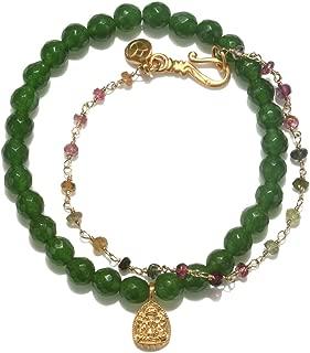 wrap jade bracelet