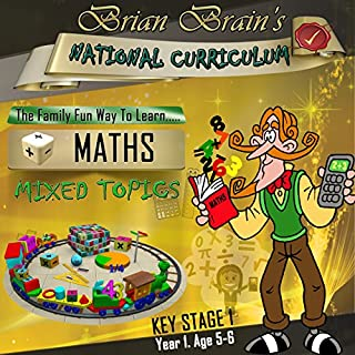 Brian Brain's National Curriculum KS1 Y1 Maths Mixed Topics cover art