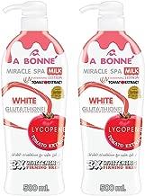 A Bonne Miracle Spa Milk Tomato Body Lotion 500 ml. (2 Pack)