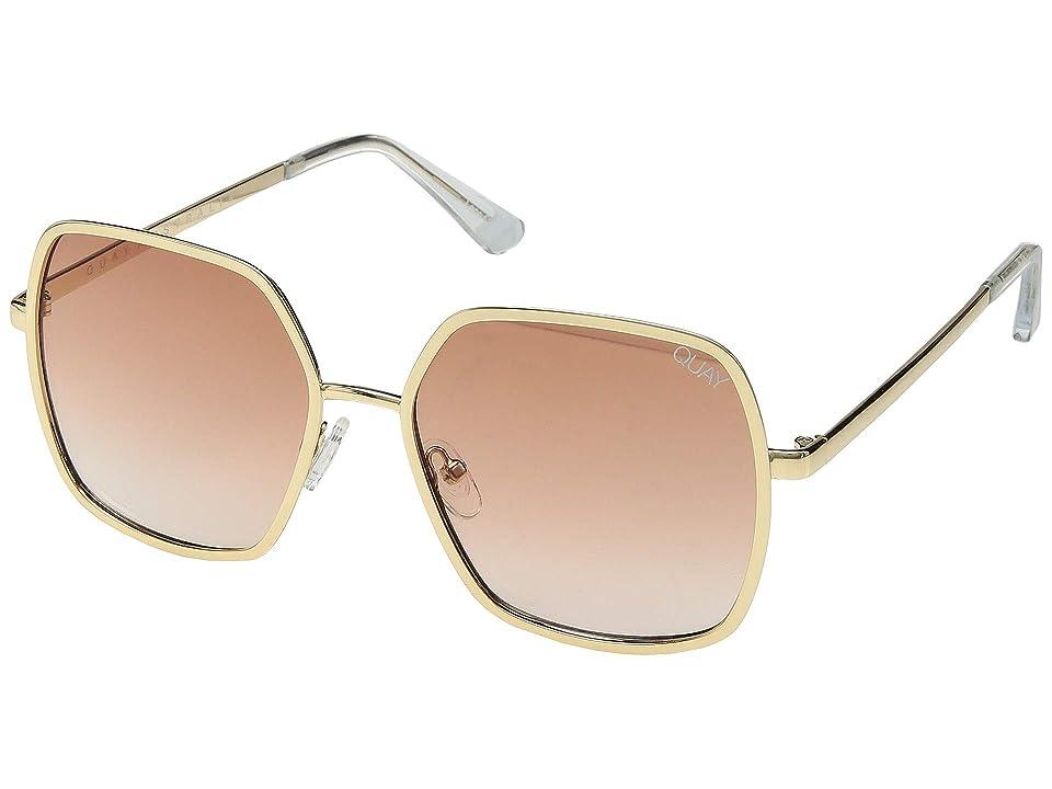 QUAY AUSTRALIA Undercover (Gold/Peach) Fashion Sunglasses