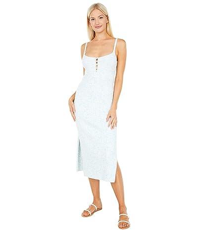 WAYF Side Slit Cami Midi Dress