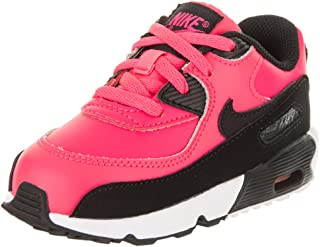 Air Max 90 LTR (TD) Toddler Shoes Racer Pink/Black/White 833379-600