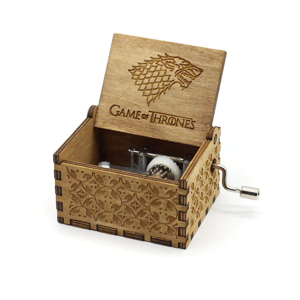 FOONEE Caja de Música Harry Potter, Cajas de Música Pequeñas para Mujeres/Niñas / Niños/Niños, Artesanías de Caja de Madera Tallada Antigua (I): Amazon.es: Hogar