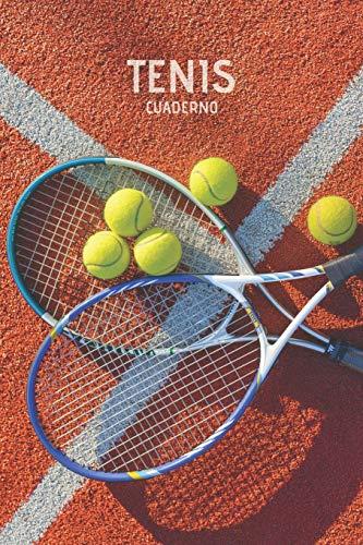 Tenis Cuaderno: Cuaderno Lineado Entrenadora de Tenis Padel