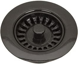 Astracast - 3-1/2 in. Garbage Disposal Collar in Metallic Black - Black