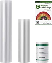 Hemoton Vacuum Sealer Bags, 2 Rolls 8