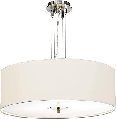 Amazon.com: Lámpara de techo con acabado de bronce de carga ...