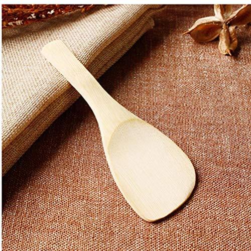 Aisoway Sushi Schaufel Bambus Reis Löffel Reis Küche Paddelzubehör
