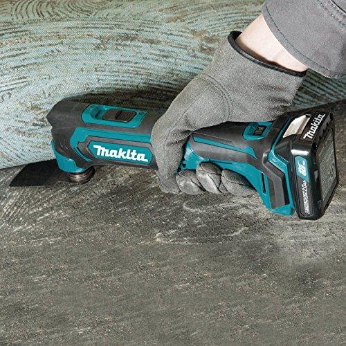 Makita 12V Multi-Tool in Use