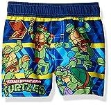 Nickelodeon Little Boys' Teenage Mutant Ninja Turtles Infant Swim Trunk, Blue, 12M