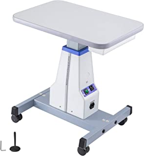 VEVOR Motorized Instrument Table Professional Adjustable Optical Eyeglass Motorized Instrument Working Table for 2 Instruments (D16 18.9
