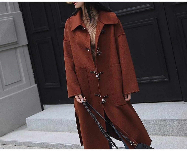 LongFashioned Coat in Autumn, Thicken Student Sen Wool Coat, Woolen Coat Female XQY