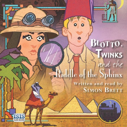 Couverture de Blotto, Twinks and the Riddle of the Sphinx