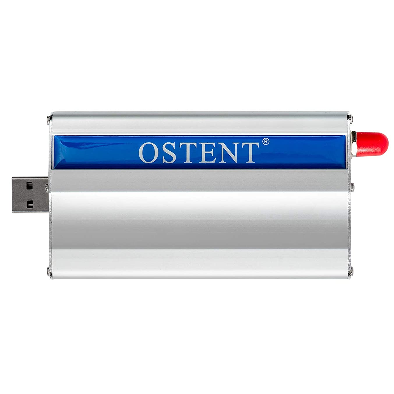 OSTENT Quad-Band GSM GPRS Edge Modem with Wavecom Q2687 Module USB Interface TCP/IP SMS MMS