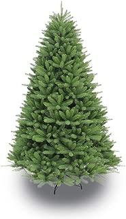 Puleo International 7.5 Foot Un-Lit Premier Douglas Fir Artificial Christmas Tree, Green