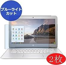 【2 Pack】 Synvy Anti Blue Light Screen Protector for HP Chromebook 14-ak000 / ak013dx / ak050nr / ak040nr / ak060nr / ak031nr / ak010nr / ak041dx / ak040wm / ak045wm 14