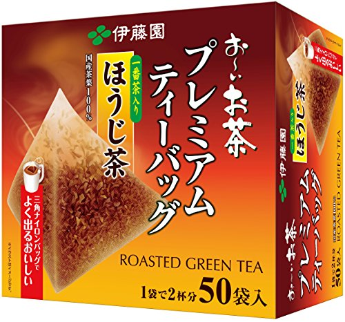 Itoen Premium Tee Bag Houjji Tea 1.8g - 50 peace - Green Tea - (Pack Type)