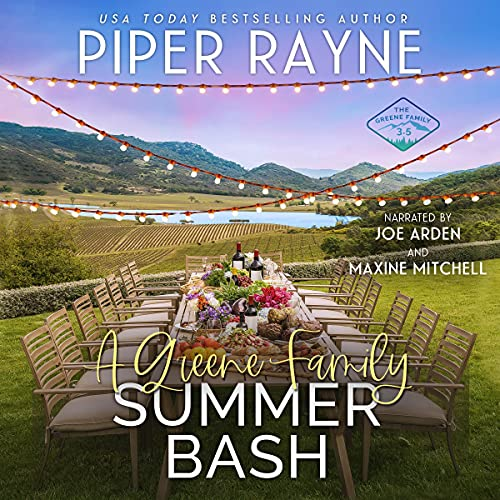 A Greene Family Summer Bash Audiobook By Piper Rayne cover art