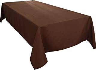 HIGHFLY Linen Rectangle Tablecloth 60 X 102 Inch Waterproof coffee Tablecloth for Dining room Restaurant Wedding Party
