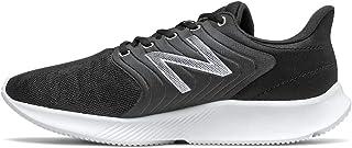 New Balance Men's Dynasoft 068 V1 Running Shoe, Black/White, 9