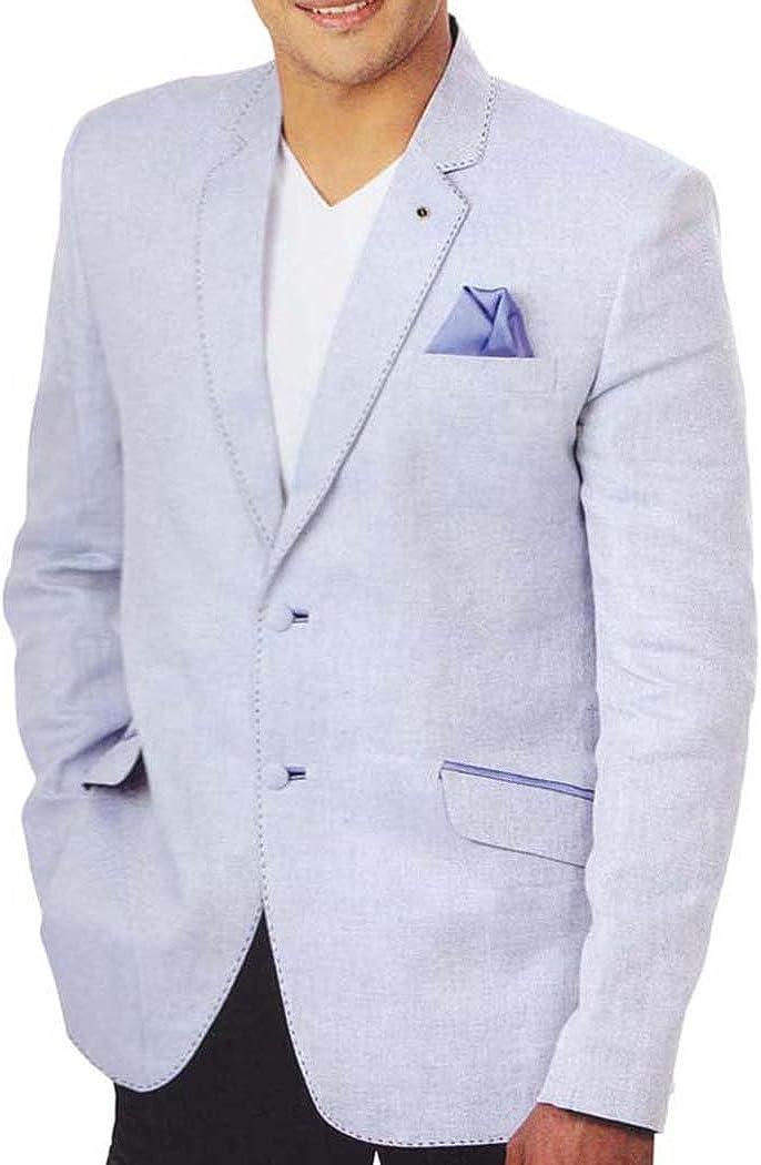 INMONARCH Mens Lavender 3 Pc Tuxedo Suit Notch Collar TX0965