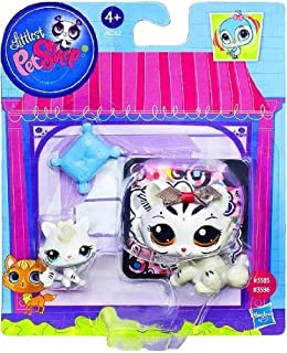 Littlest Pet Shop Figures White Tiger & Baby Tiger by Littlest Pet Shop