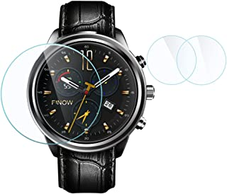 2 PCS Tempered Glass LCD Screen Protector for HUAWEI Watch HUAMI Smart Watch X5 X5plus X5Air LEM5 LES1 I4 Pro I4 Air Z10 LF16 KW88 KW99 H1 H2 1.39inch OLED Display Screen Protection