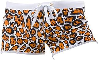 6f0e048e48 JMETRIC Shorts de Bain Pantalon De Plage De Natation De Conception  D'Impression pour Maillot