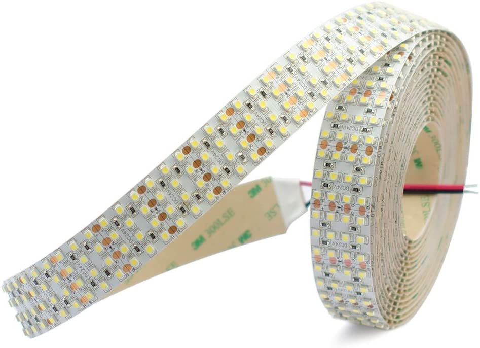 Quad Row LED Strip Lights Max 66% OFF - 24VDC 3528SMD Animer and price revision Ft 95 High 146LEDs CRI
