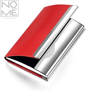 NOMĒ Slim Business Card Holder - Credit Card Pocket Wallet
