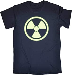 123t Funny Tee - Radioactive Glow in The Dark - Mens T-Shirt
