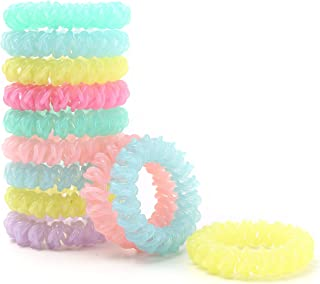 500Pcs//Pack Candy Color Elastic Hair Bands Kids Hair Holder Hair Accessories JP