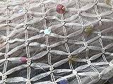 Meterware als Dekostoff- Netzstoff Beige Netzraute