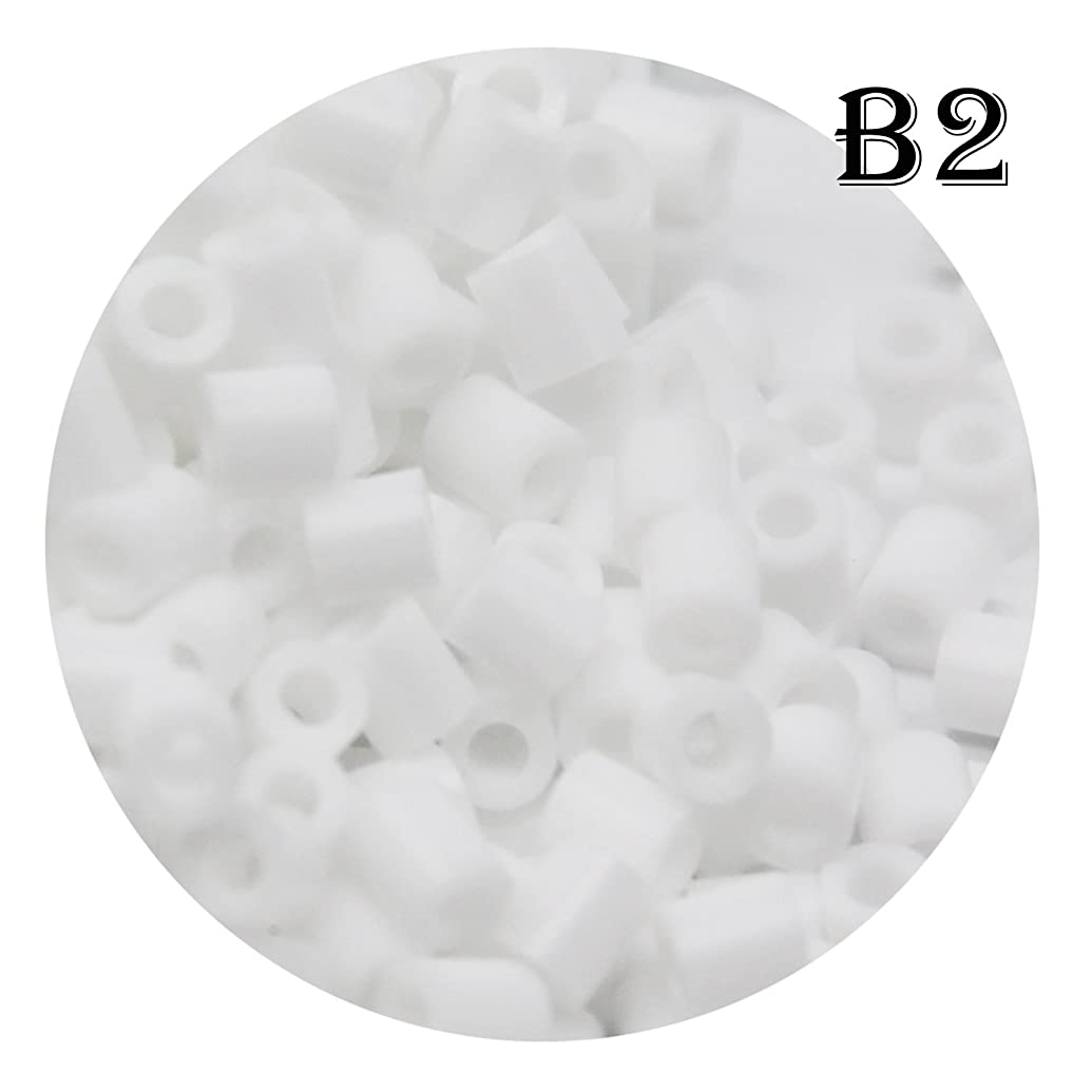 H&W 5mm Fuse Bead Refill Bag - White 1500 Count (B2)