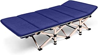Sun Lounger Cushions ,Thick Lounge Pads Patio Garden Furniture Padded Bed Recliner Relaxer Chair for Camping Beach Garden Terrace Balcony Etc. (Color : Blue)