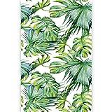 murando Fotomurales Hojas Tropicales Monstera 150x280 cm Papel pintado tejido no tejido Decoración...