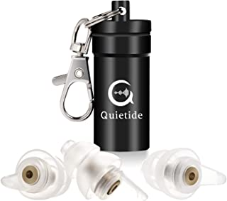 Quietide 耳栓 安眠 防音 日本語説明書付 Q5 ゴールド