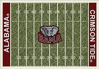 Milliken 4000018534 Alabama College Home Field Area Rug, 5'4