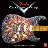2021 Fender Custom Shop Guitar 16-Month Wall Calendar