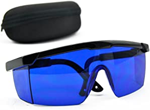 Blue Safety Glasses 590nm-690nm Red Green Yellow Laser Eye Protection Goggles