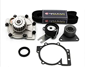 Timing Belt Water Pump Kit fits for 2001-2009 Volvo S60, 2009 2010 2011 Volvo C30, 2004-2010 Volvo S40 V50 C70 V70 XC70 S80 XC90 2.3L 2.4L 2.5L