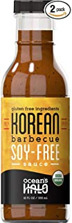 2 bottles of Ocean's Halo Organic soy-free Spicy Korean BBQ sauce