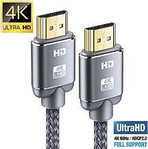 Cable HDMI 4K 2metros-Snowkids Cable HDMI 2.0 de Alta