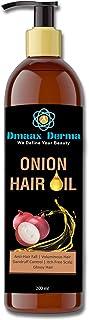 Dmaax Derma Onion Hair Oil (200 ml) | Onion Oil for Hair