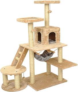 Pet Waterloo Nido de Mascotas - Nido de Gato Gato Grande Gatito de Gato Rascarse después de Escalar Torre Juego de Softwar...